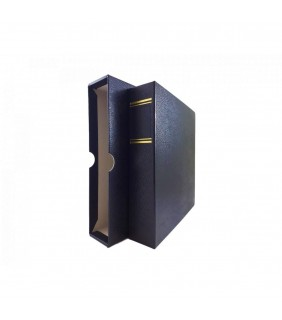 Binders with slipcover, Blue, Empty