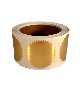 Self-adhesive Seal Gold (500)