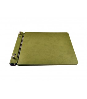 Empty Notary Repertory Book Green
