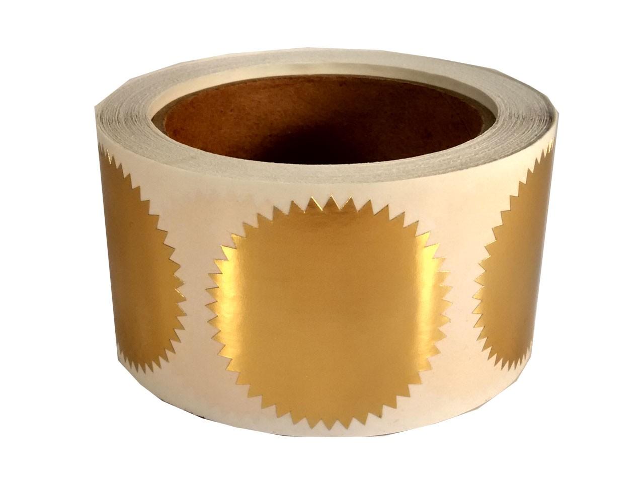 Self-adhesive Seal Gold (500)