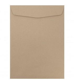 Enveloppes format 9.5'' x 14'', couleur kraft naturel