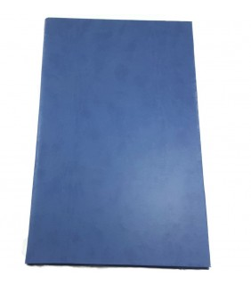 Personalised Folder NotepadBlue